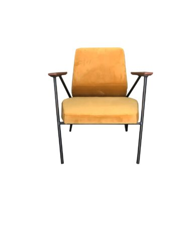 Malone chair yellow front